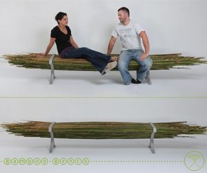 Innovation bamboo bench from Gal Ben-Arav