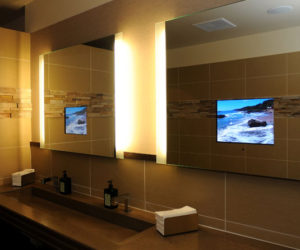 11 Beautiful Venetian Mirrors · Bathroom Mirrors With Built In TVs