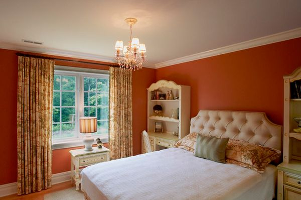 orange color bedroom how to create a warm decor using colors 12745