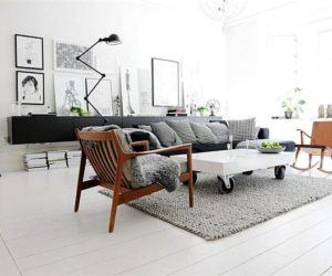 ... Another Black And White Interior Design