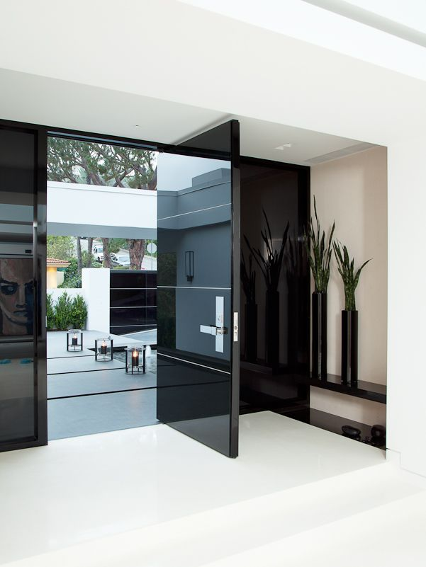 & How Modern Front Doors Can Reveal The Character Of Your Home