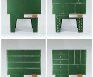 Blackboard cabinet by Peter Jakubik