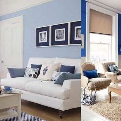 White And Blue Living Room 20 blue living room design ideas