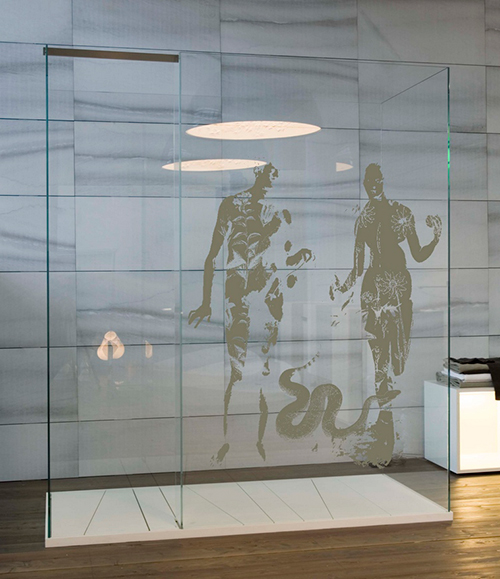 Wonderful Creative Shower Screen Designs By Antonio Lupi