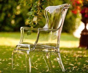 Pasha Plastic Armchair by Pedrali