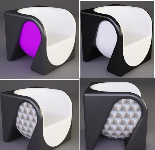Exceptional Modern And Stylish Cube Chair Gallery