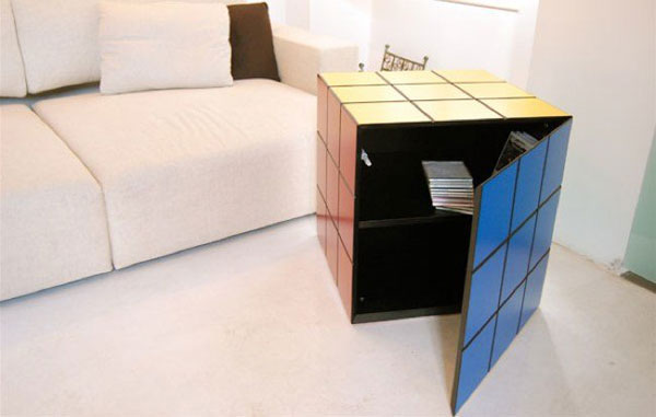 Delightful Rubiku0027s Cube Chest Of Drawers · Versatile Rustic Cube Versatile Rustic Cube  · View In Gallery
