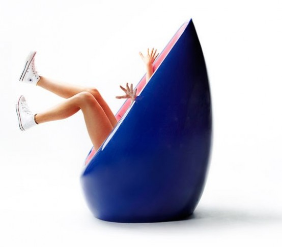 Good Colorful And Friendly Egg Shaped Chair