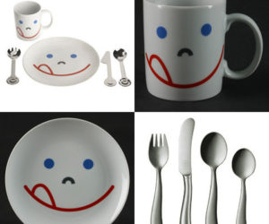 Fun dinnerware set for kids from Fitzser