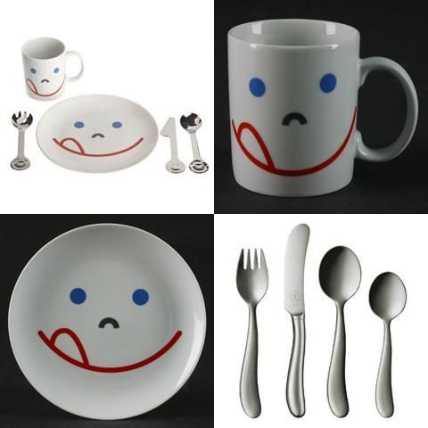 sc 1 st  Homedit & Fun dinnerware set for kids from Fitzser