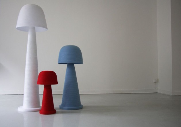 Attractive Colorful Fungi U2013 Shaped Lamps By Andreas Kowalewsky Nice Ideas
