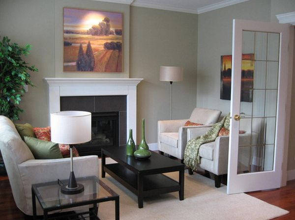 How to efficiently arrange the furniture in a small living - How to furnish a small bedroom ...