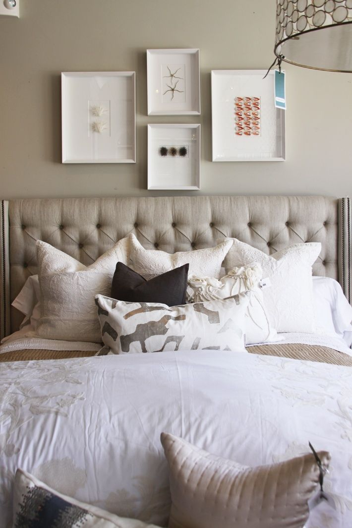 Creative ideas for decorating the space above your bed for Bedroom inspiration