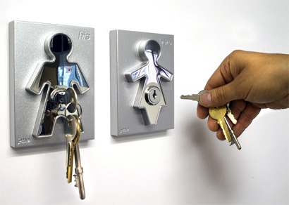 His And Hers Keyholder