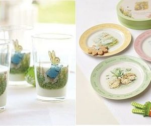 Peter Rabbit Table Decorations for the Easter