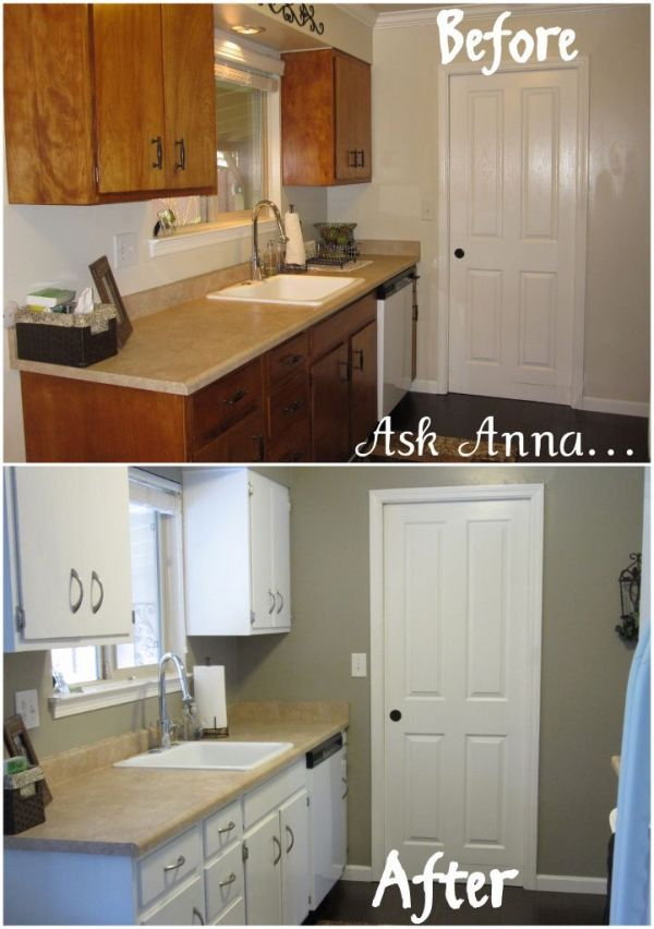 Give your kitchen cabinets a facelift for Efficacy apartments