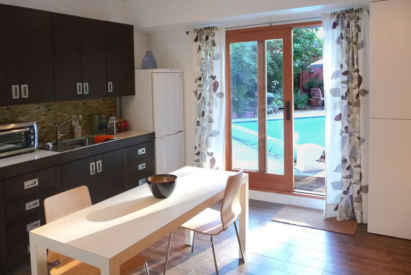 How to use curtains with sliding glass doors for Small sliding glass doors