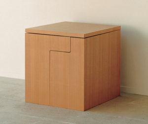 "Compact ""Cube"" Dining Table Set"