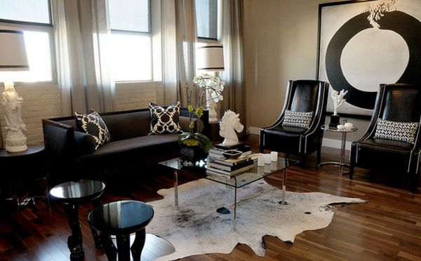 Color Design Ideas with Black Furniture