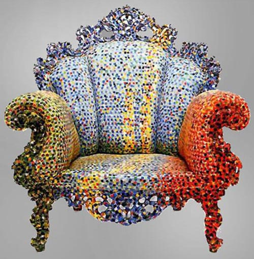 Colorful U201cProustu201d Armchairs By Alessandro Mendini