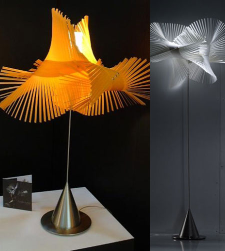 Elegant Mikado Table Lamps By Miguel Herranz