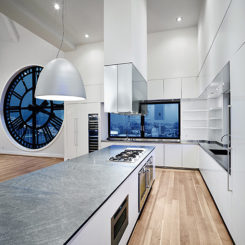 Spacious Gaggenau Kitchen In The U201cHigh Timesu201d Penthouse