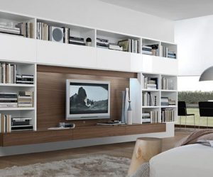 The Nightfly Entertainment Center For Living Room · 33 Modern Wall Units  Decoration From Jesse