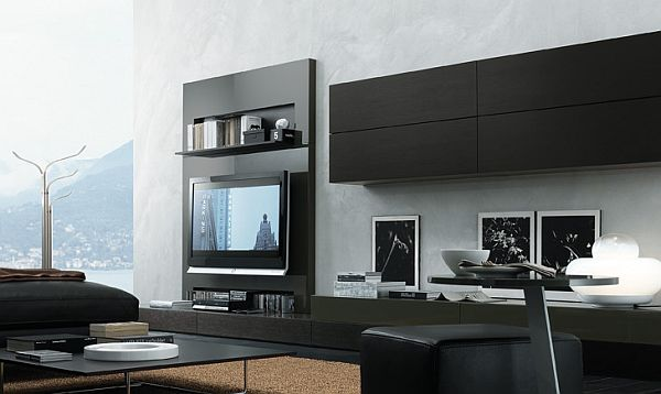 33 modern wall units decoration from jesse for Decoration unite murale