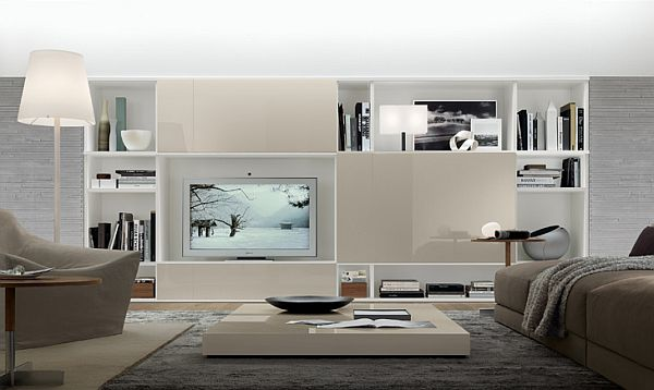 Captivating Modern Wall Units ...
