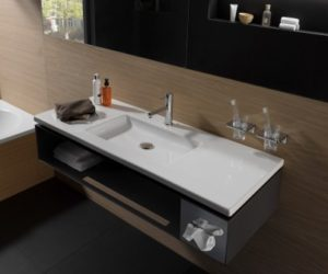 Laufen Living Square vanity unit with shelf