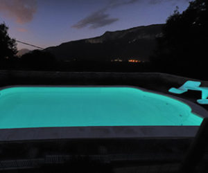 Add some spark to your life with the new Phosphorescent Swimming Pool