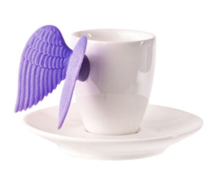 Putto Espresso Cup and Saucer  – the Winged Cup