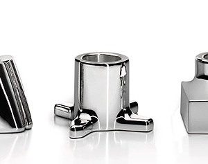 Silver Toothbrush/razor Holders Ideas