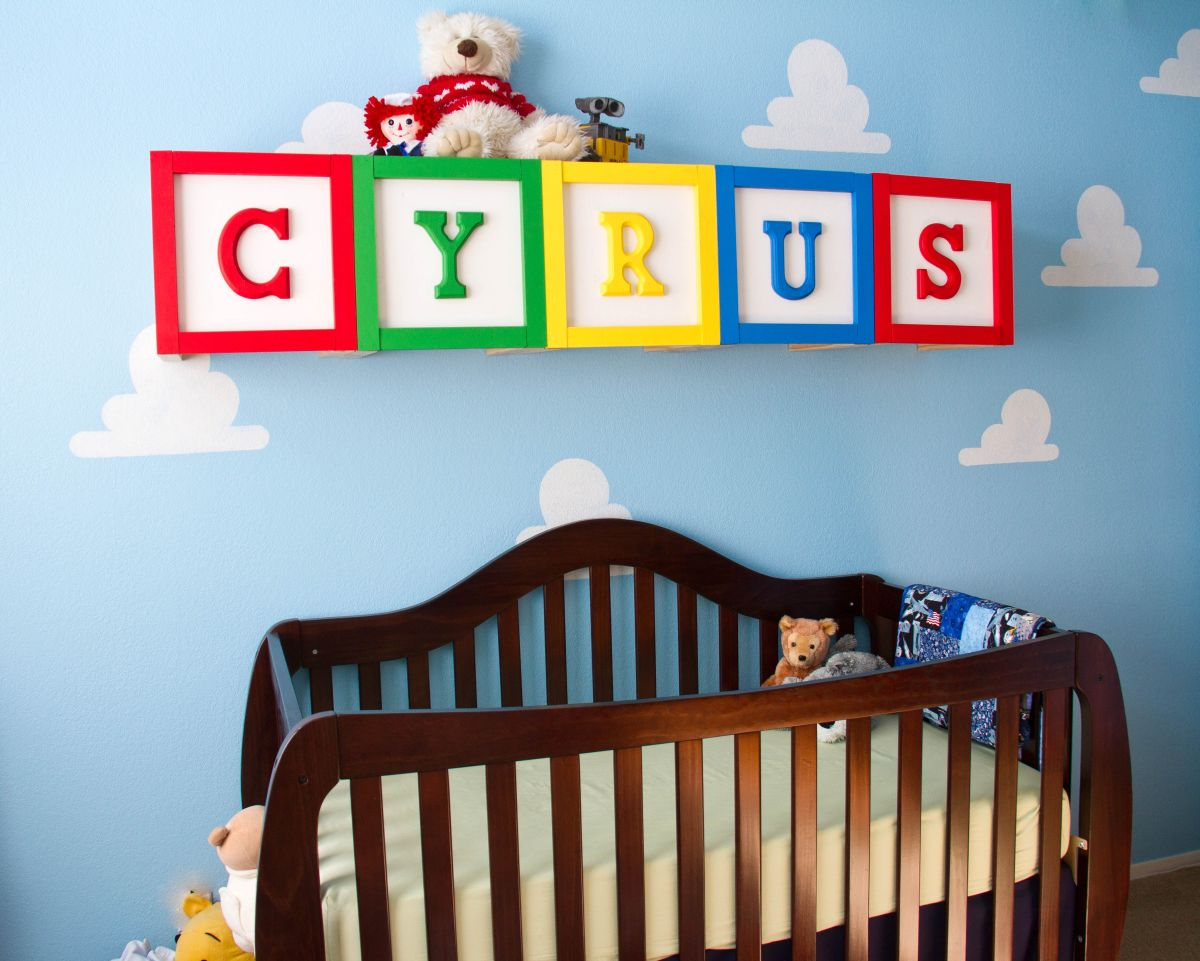 Toy Story Themed Kids Room Design And