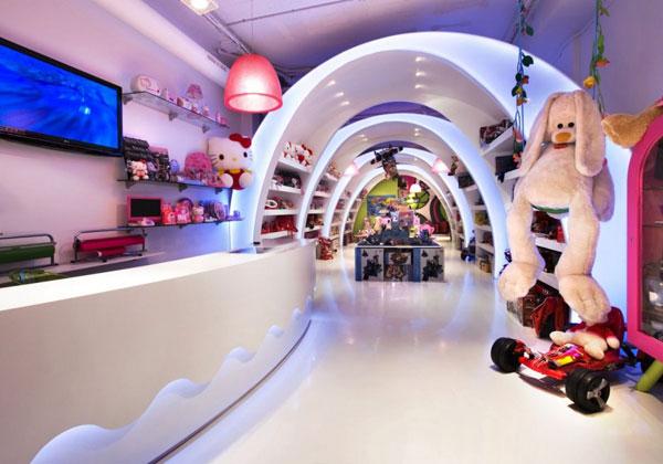 Toy Heaven Designed By Elia Felices - Eastern-design-office-designed-the-mostip-shoe-shop