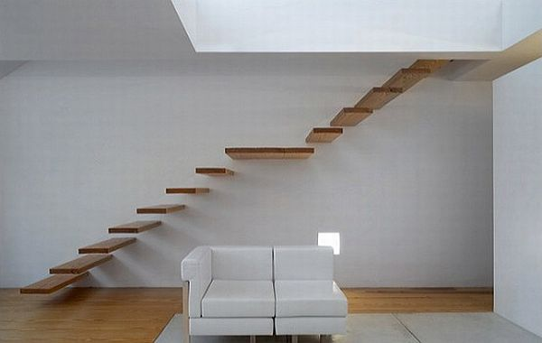 21 of the most interesting floating staircase designs - Como se hacen escaleras de madera ...