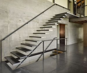 ... 21 Of The Most Interesting Floating Staircase Designs