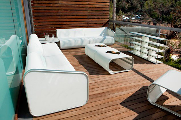 The best materials for outdoor furniture for Patio arredamenti