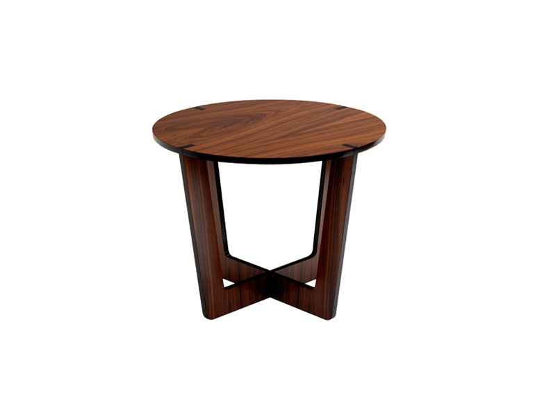 Brazil round side table