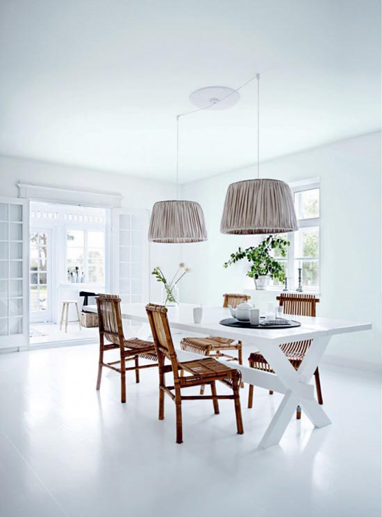 Pure White Tine Kjeldsen Interior House