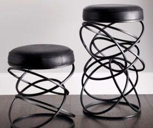 Artistic bar stools