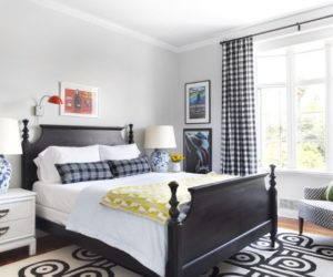 white room with black furniture. Black Bed Frames \u2013 The Little Dress Of Interior Design White Room With Furniture