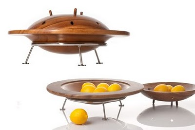 Original Flying Saucer Fruit Bowl