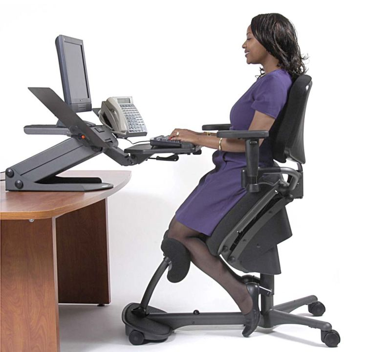How to properly use your ergonomic office chair to fight for Best furniture for bad backs