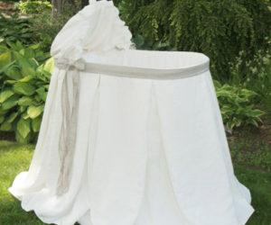 A bassinet fit for a little princess