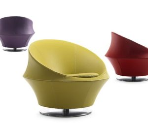 Comfortable and stylish Ophelia chair from Leolux