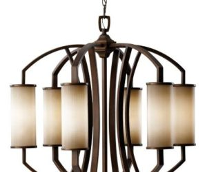 Modern Murray Feiss Chandelier