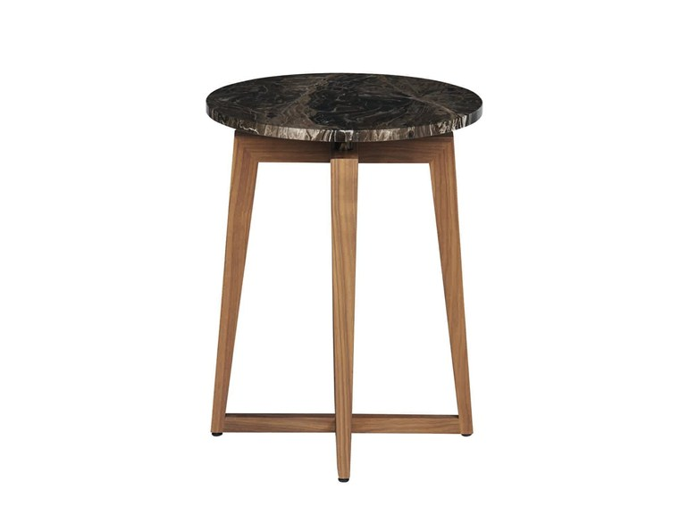 Roudn side table zen