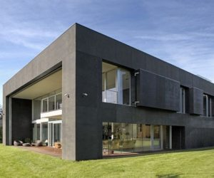 A Modern Home in Poland, the Safe House