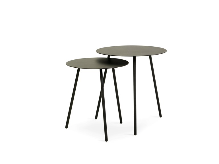 Sputnik round side table